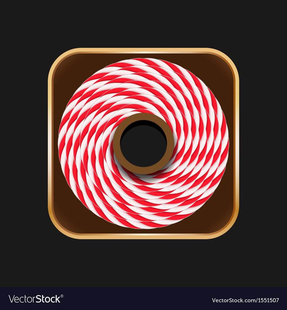 Twine roll icon vector   Price: 1 Credit (USD $1)