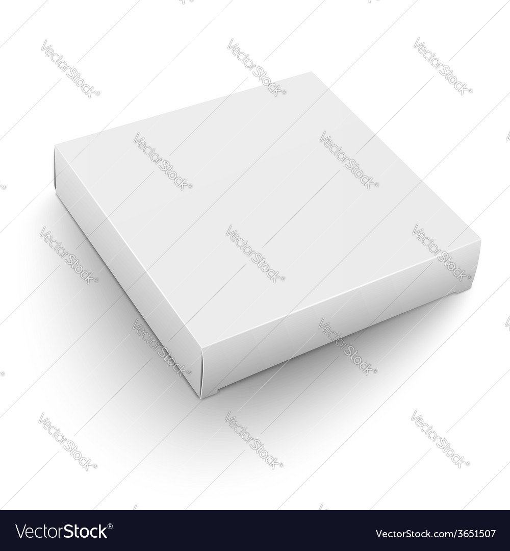 White square box template vector | Price: 1 Credit (USD $1)