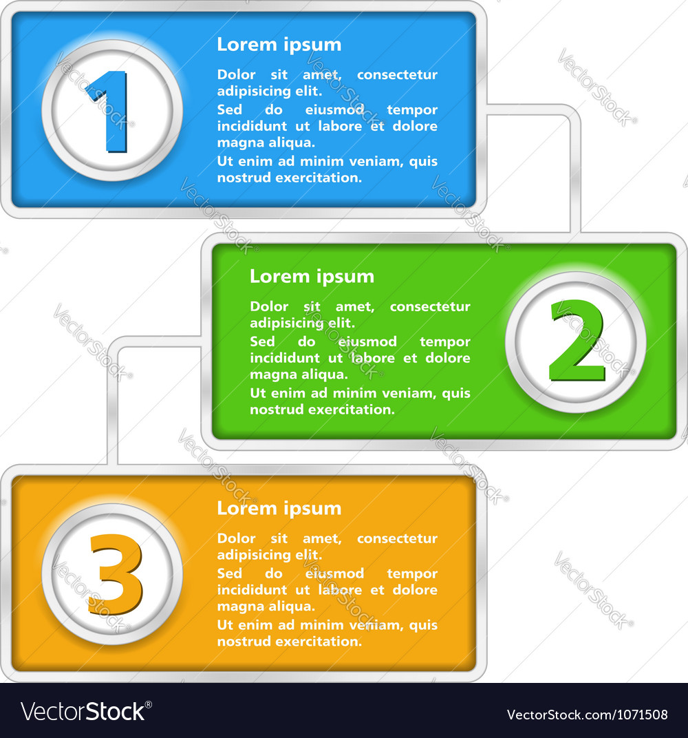 Diagram template vector | Price: 1 Credit (USD $1)