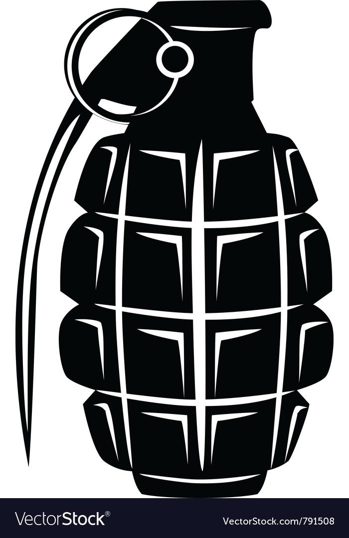 Grenade vector | Price: 1 Credit (USD $1)