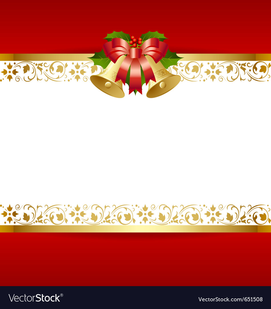 Stylized christmas card template vector | Price: 1 Credit (USD $1)
