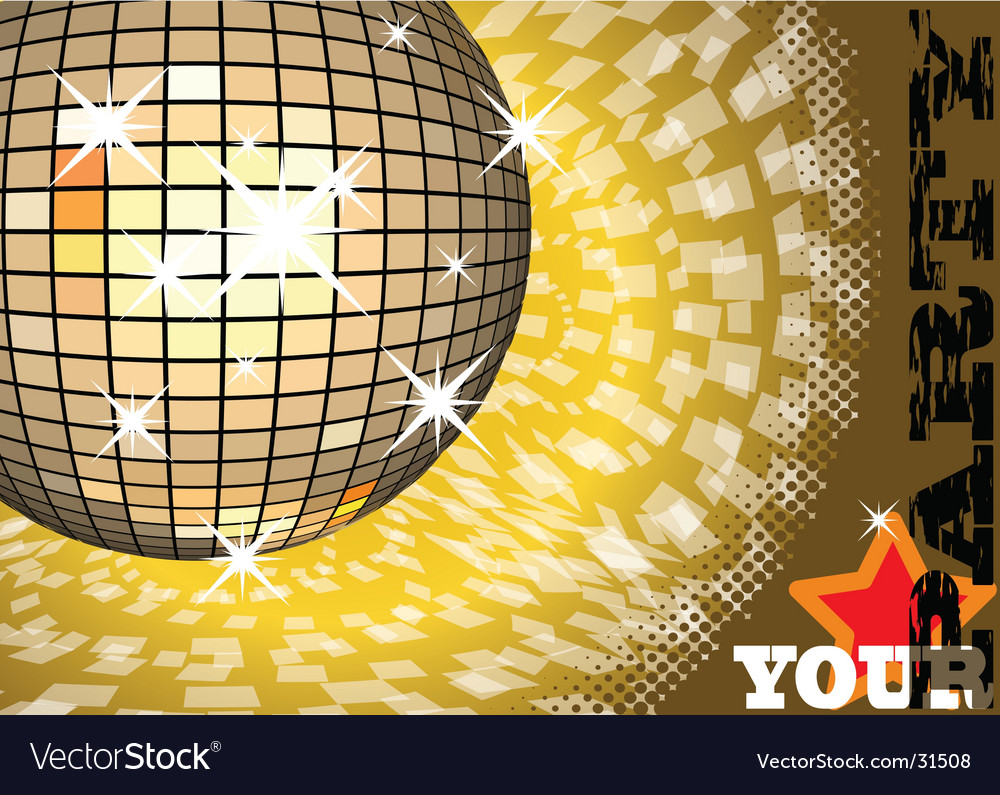 To give a gold party vector | Price: 1 Credit (USD $1)
