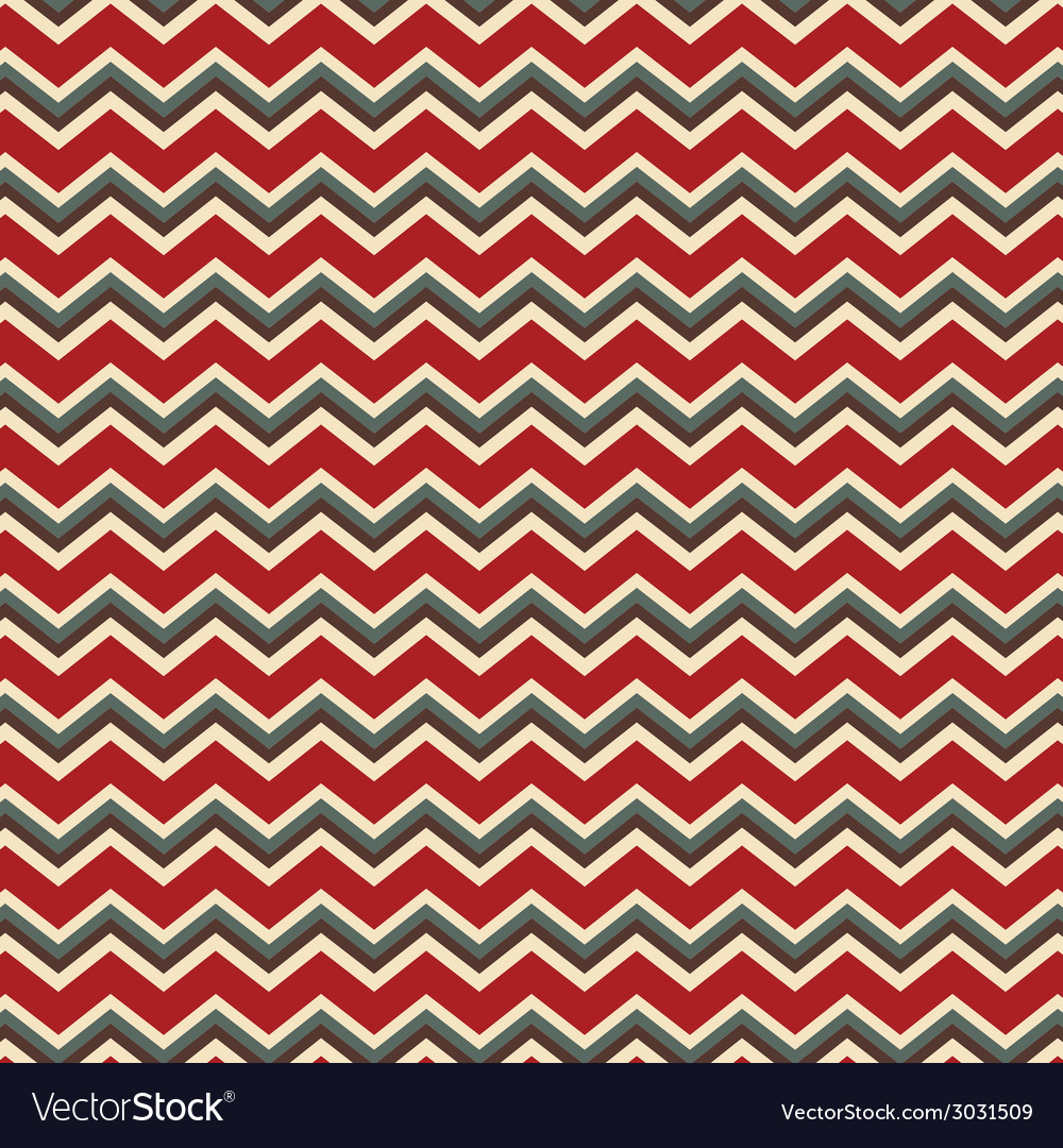Chevron red and green holiday colors vector | Price: 1 Credit (USD $1)