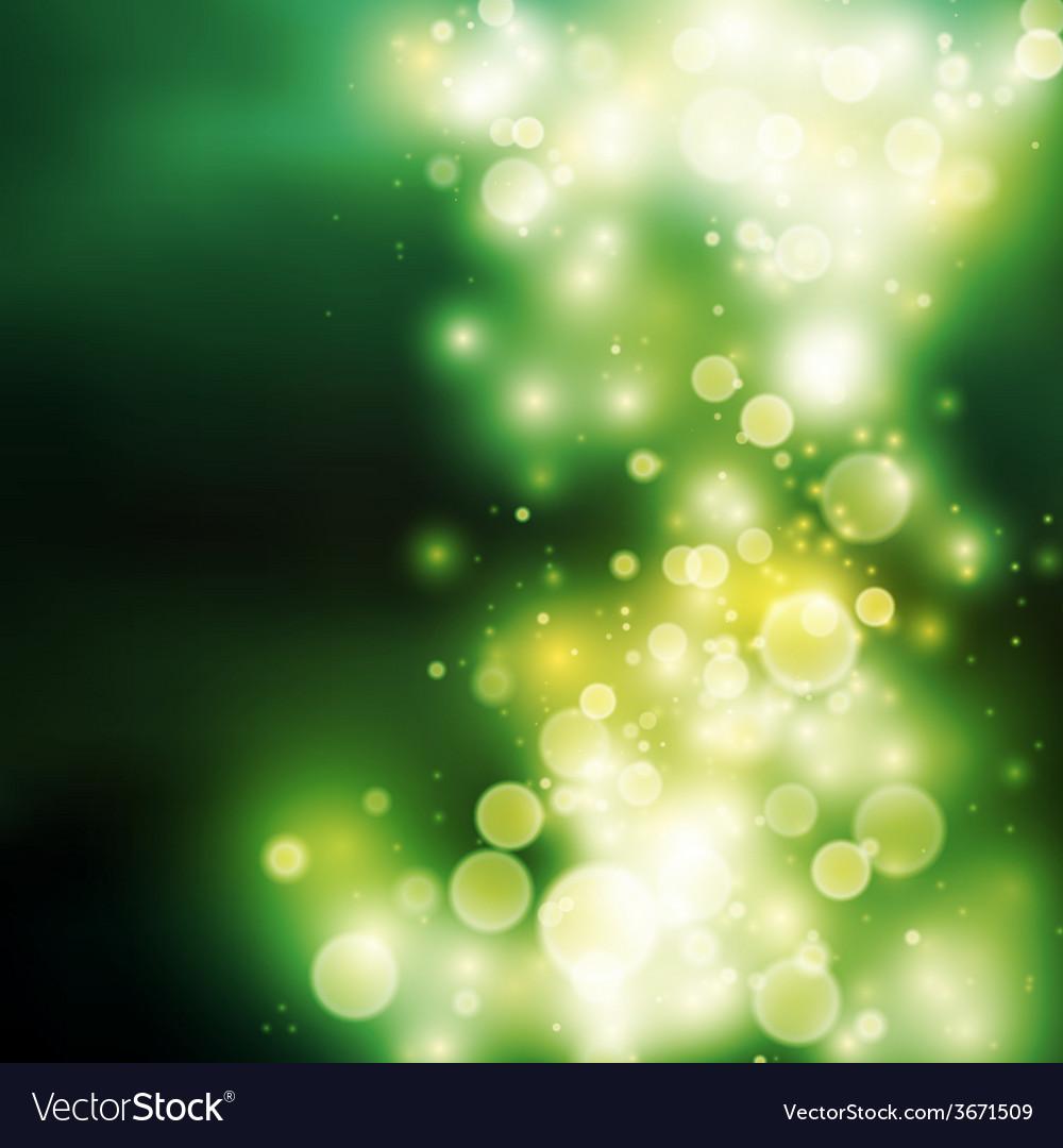 Green bokeh light background vector   Price: 1 Credit (USD $1)