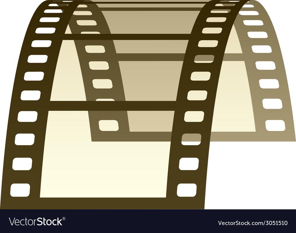 3d film strip vector | Price: 1 Credit (USD $1)