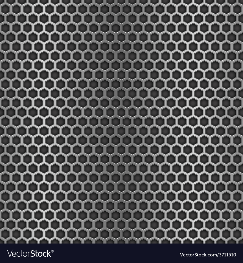 Chrome cell seamless background vector | Price: 1 Credit (USD $1)