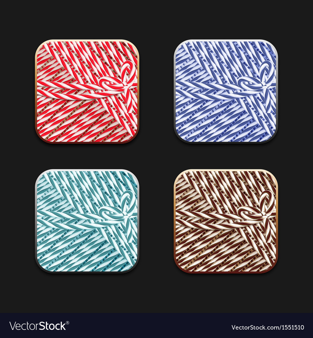 Collection of icons in twine stile vector   Price: 1 Credit (USD $1)