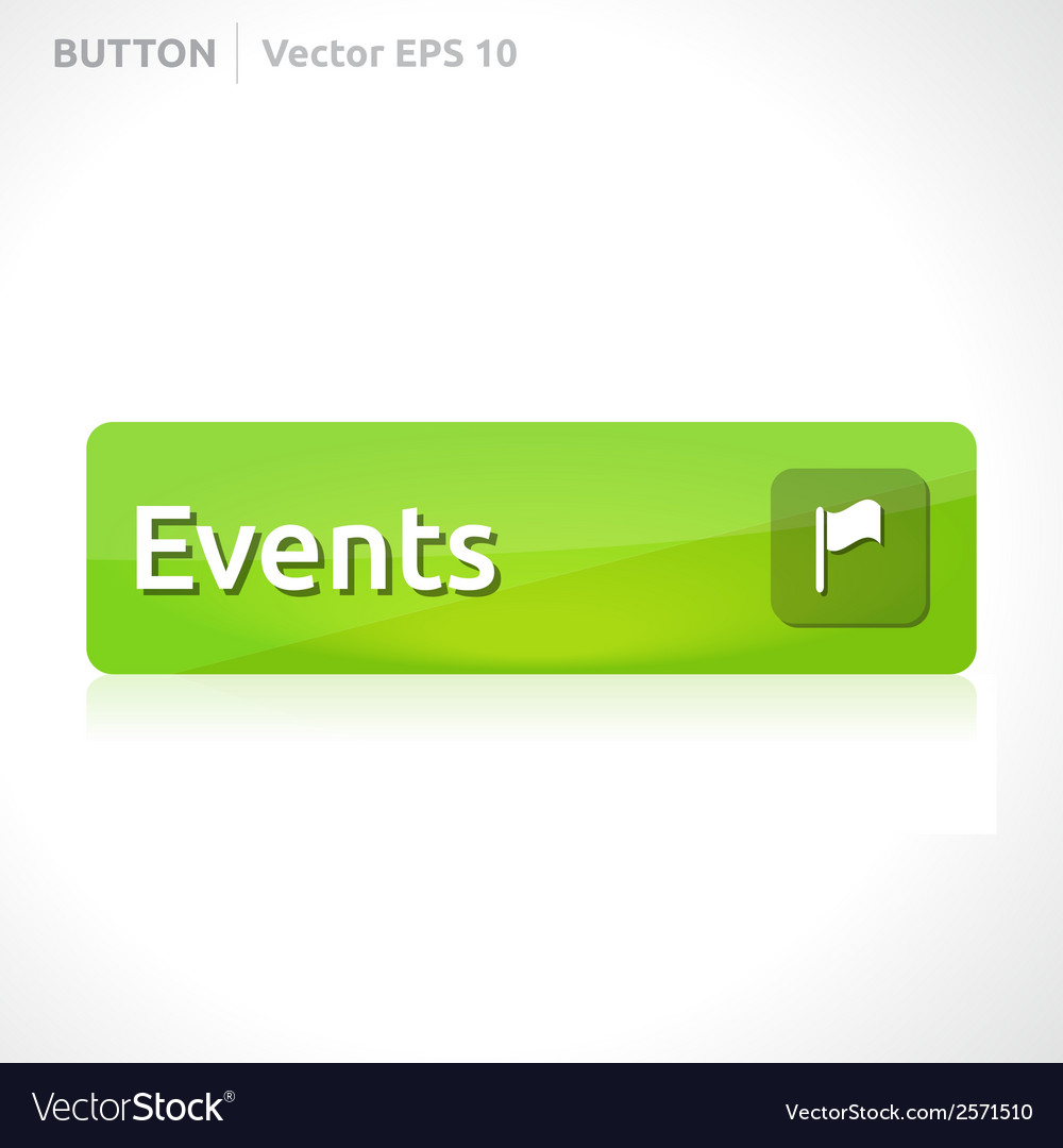 Events button template vector | Price: 1 Credit (USD $1)