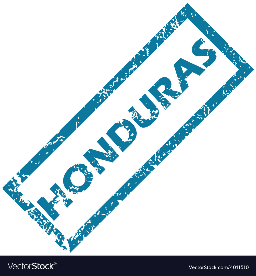 Honduras rubber stamp vector | Price: 1 Credit (USD $1)