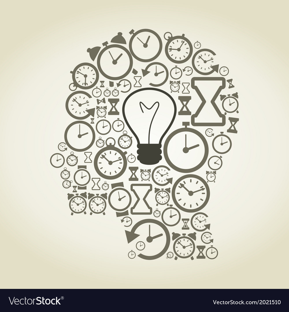 Hours a head vector   Price: 1 Credit (USD $1)