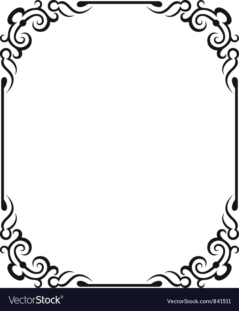 Blank frames vector | Price: 1 Credit (USD $1)