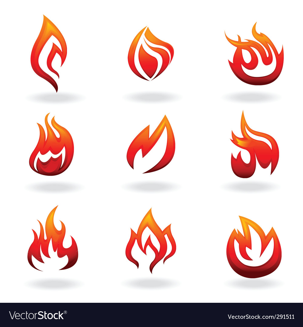 Fire graphic vector | Price: 1 Credit (USD $1)