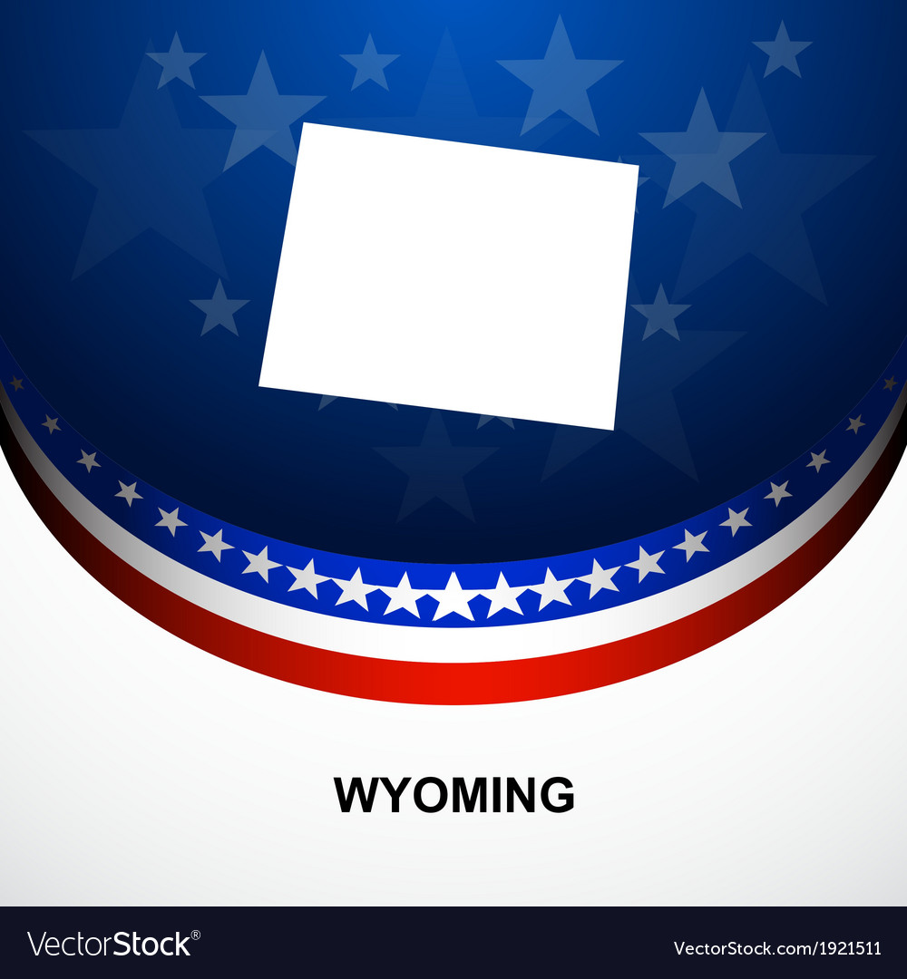 Wyoming vector | Price: 1 Credit (USD $1)