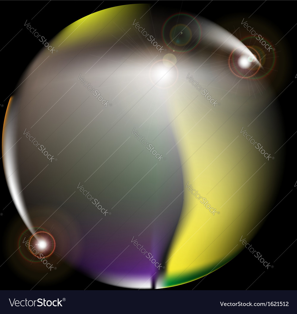 Abstract lens flare vector | Price: 1 Credit (USD $1)