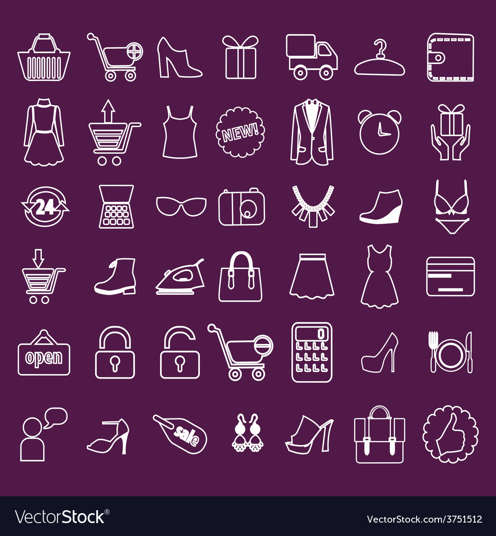 Shoping flat retail vector | Price: 1 Credit (USD $1)