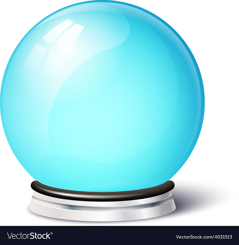 Isolated magic spiritual ball vector | Price: 1 Credit (USD $1)