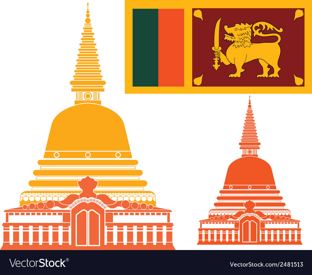 Sri lanka vector | Price: 1 Credit (USD $1)