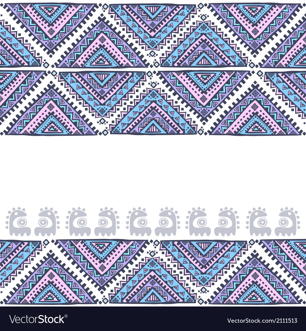 Tribal vintage ethnic background vector | Price: 1 Credit (USD $1)