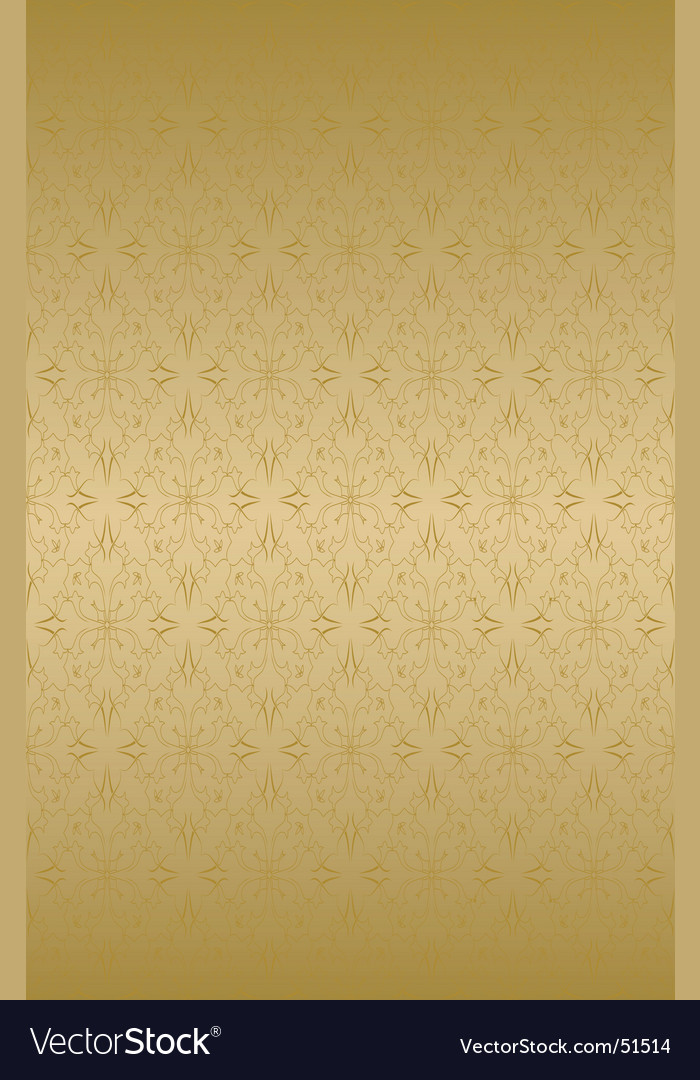 Decorative wallpaper pattern vector | Price: 1 Credit (USD $1)