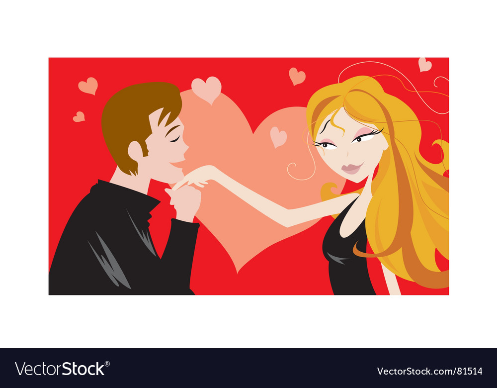 Love and attraction vector | Price: 1 Credit (USD $1)