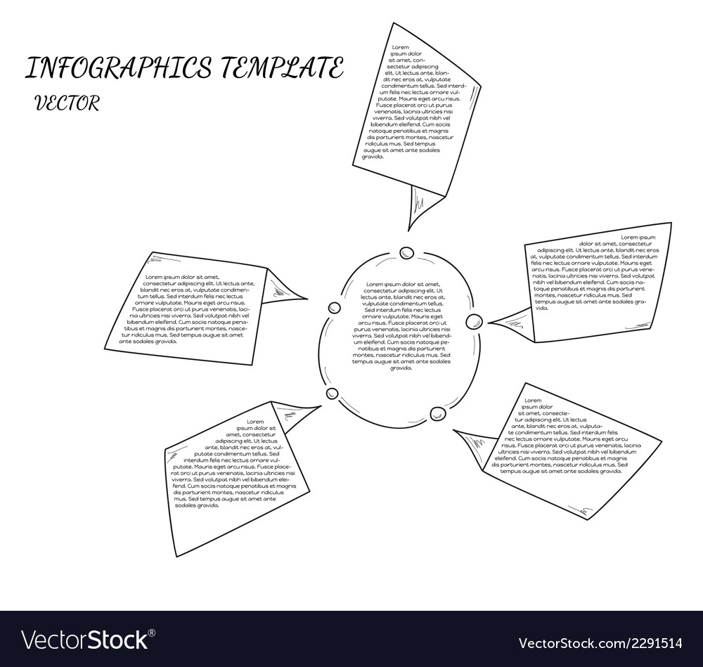 Sketch infographcs vector | Price: 1 Credit (USD $1)