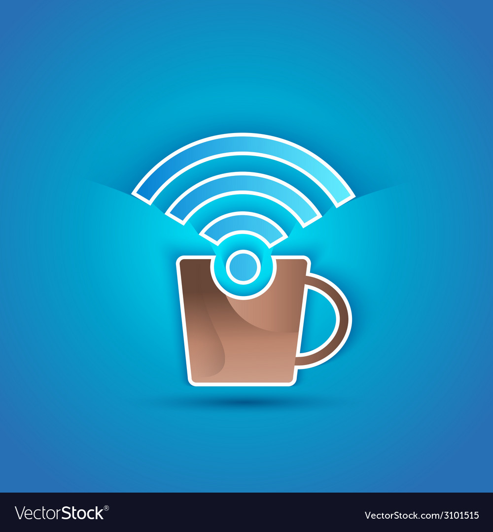 3d icon paper internet cafe with shadow effect on vector | Price: 1 Credit (USD $1)