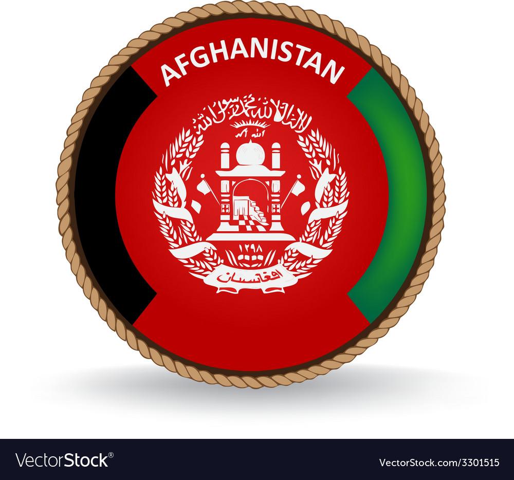 Afghanistan seal vector | Price: 1 Credit (USD $1)