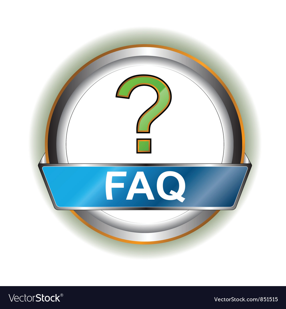Faq icon vector | Price: 1 Credit (USD $1)