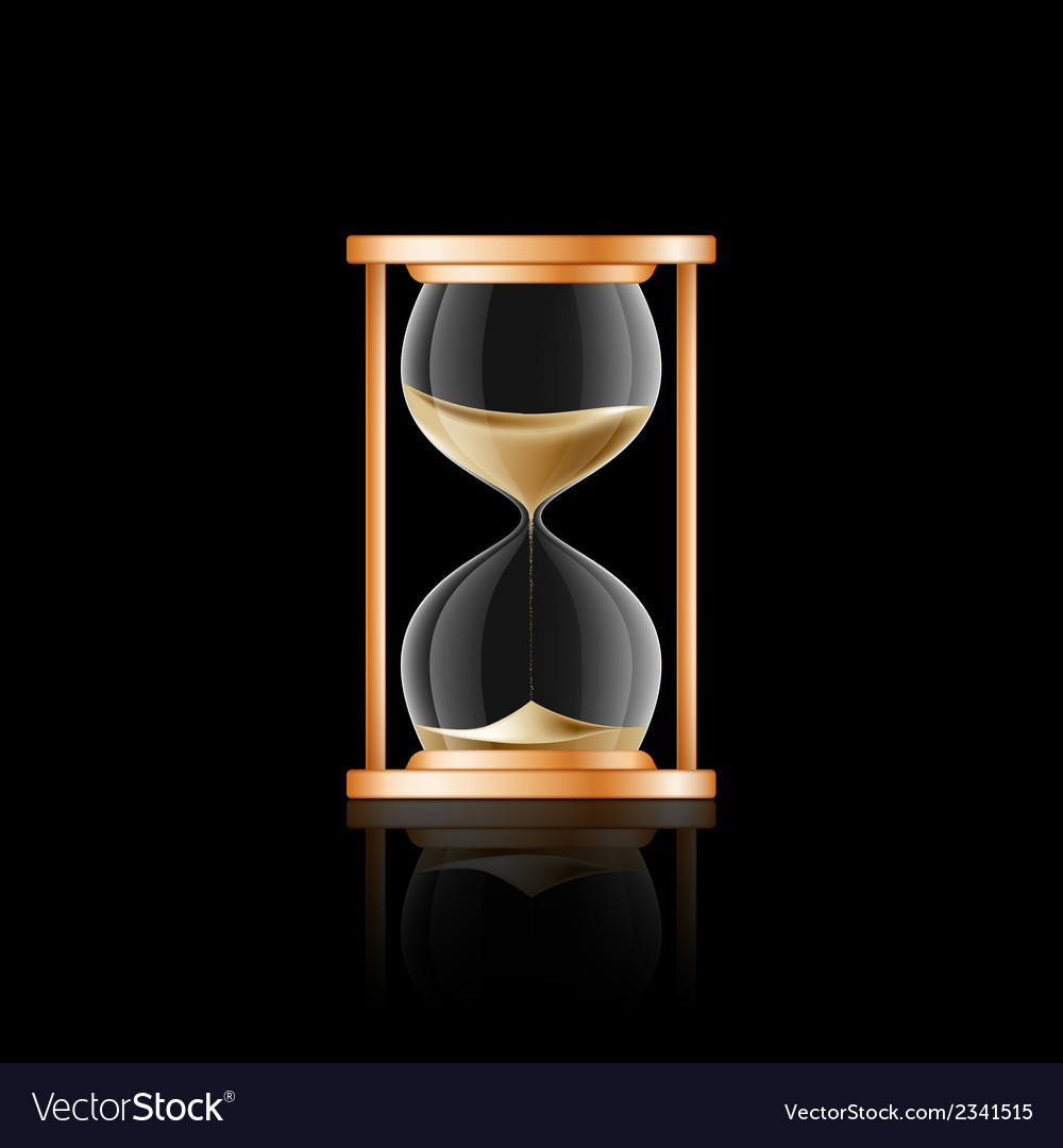 Hourglass 2 vector | Price: 1 Credit (USD $1)