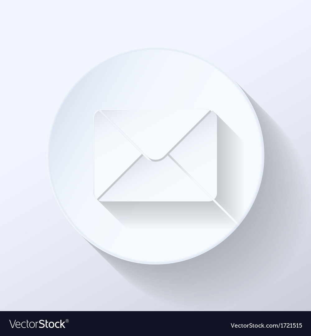 Mail flat icon vector | Price: 1 Credit (USD $1)