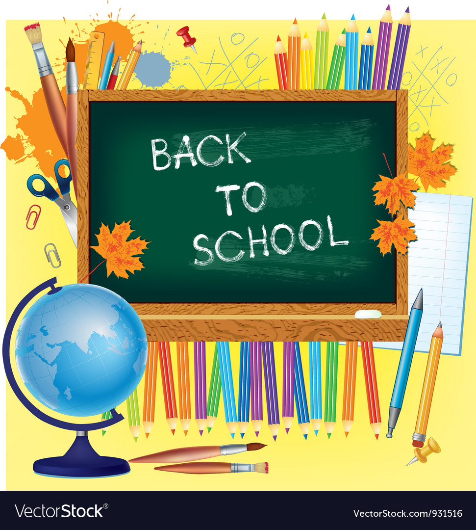 Back to school background vector   Price: 3 Credit (USD $3)