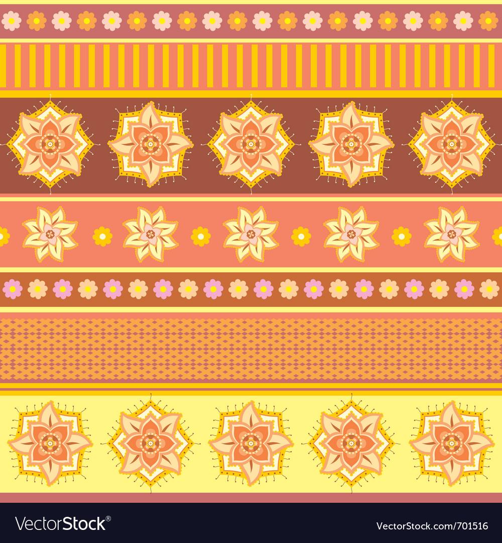 Bright ethnic ornament vector | Price: 1 Credit (USD $1)