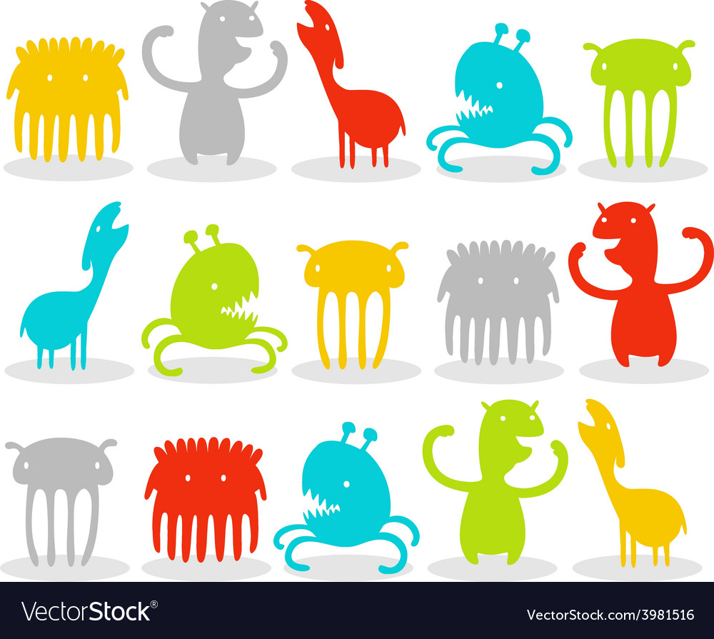 Creatures pack vector | Price: 1 Credit (USD $1)