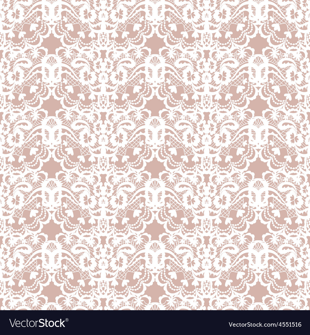Lace fabric seamless pattern vector   Price: 1 Credit (USD $1)
