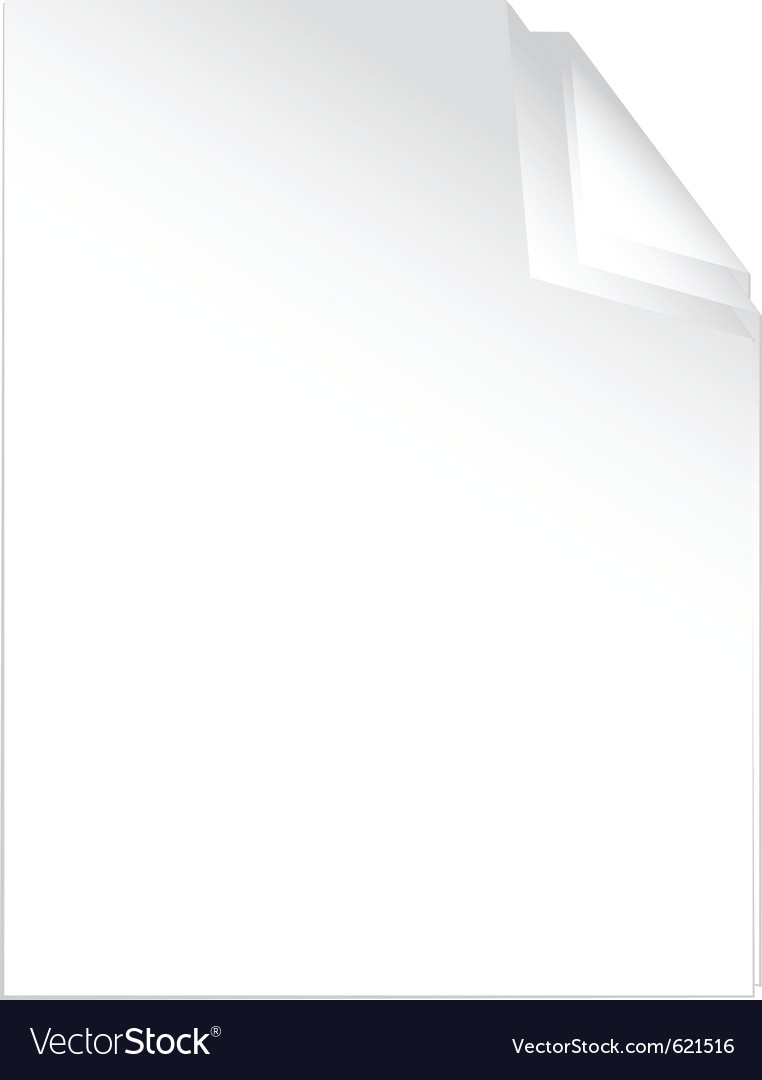 Peaces of white paper vector | Price: 1 Credit (USD $1)
