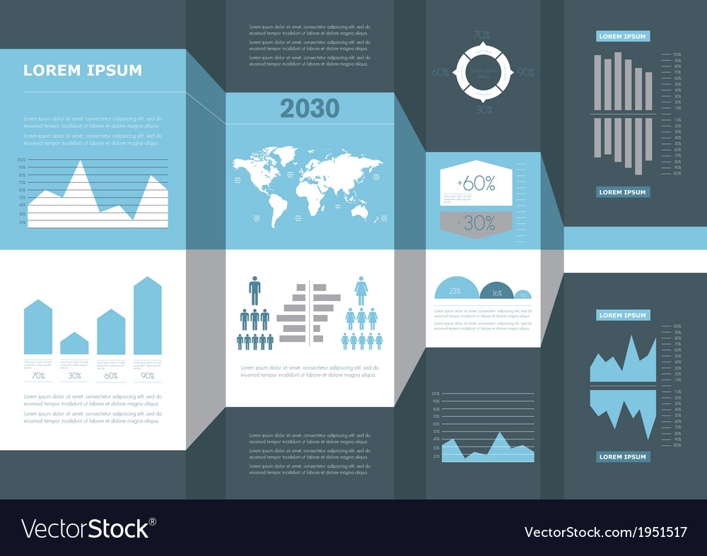 Detail business info graphic vector | Price: 1 Credit (USD $1)