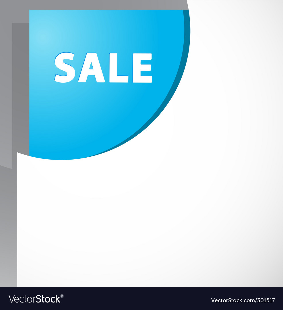 Sale sign vector | Price: 1 Credit (USD $1)
