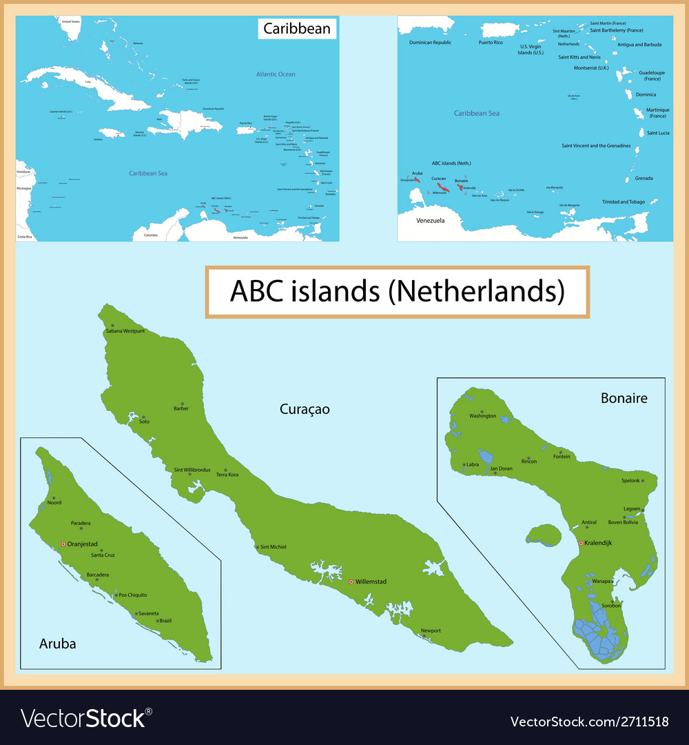 Abc islands vector | Price: 1 Credit (USD $1)