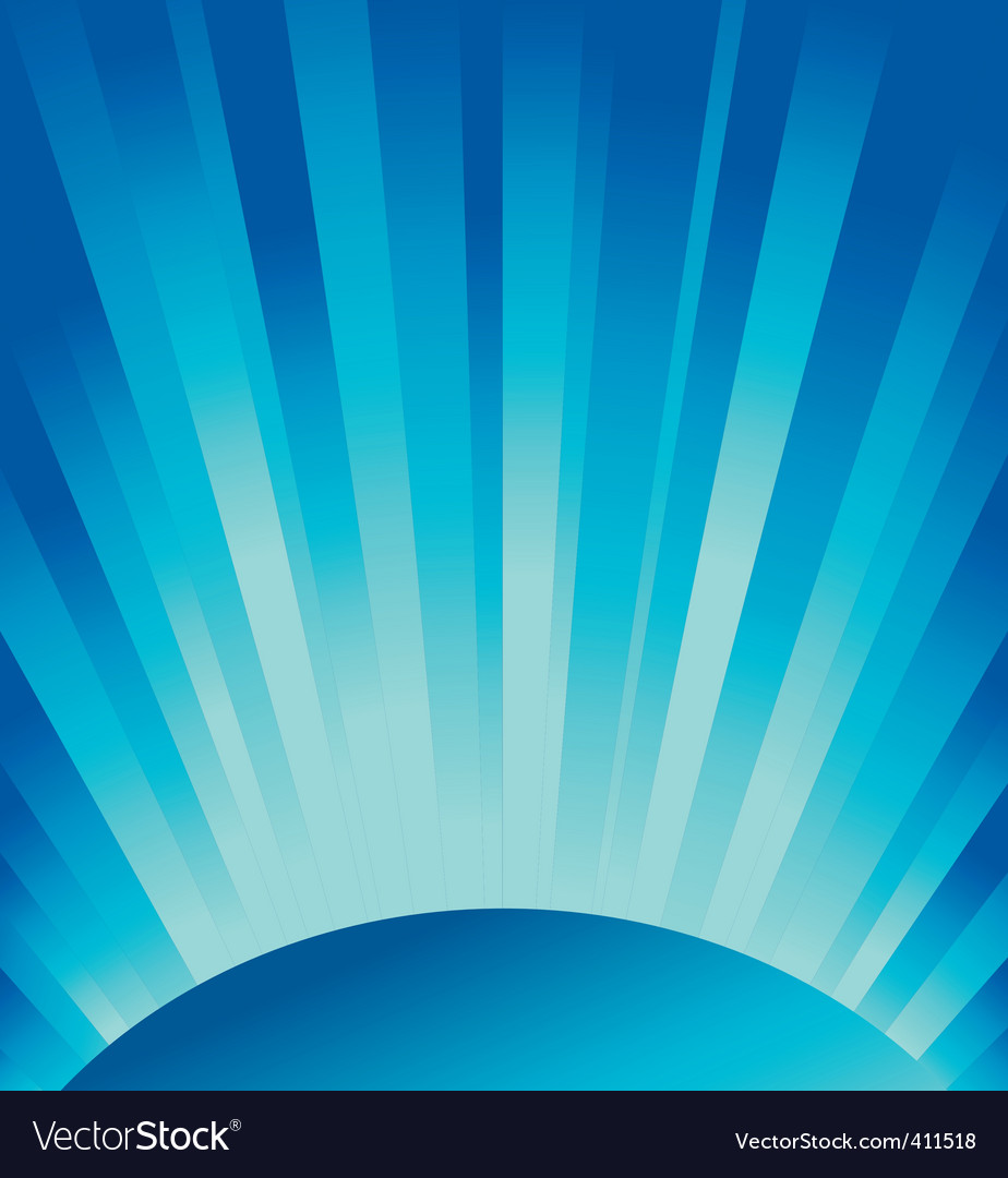blue rays of light vector | Price: 1 Credit (USD $1)
