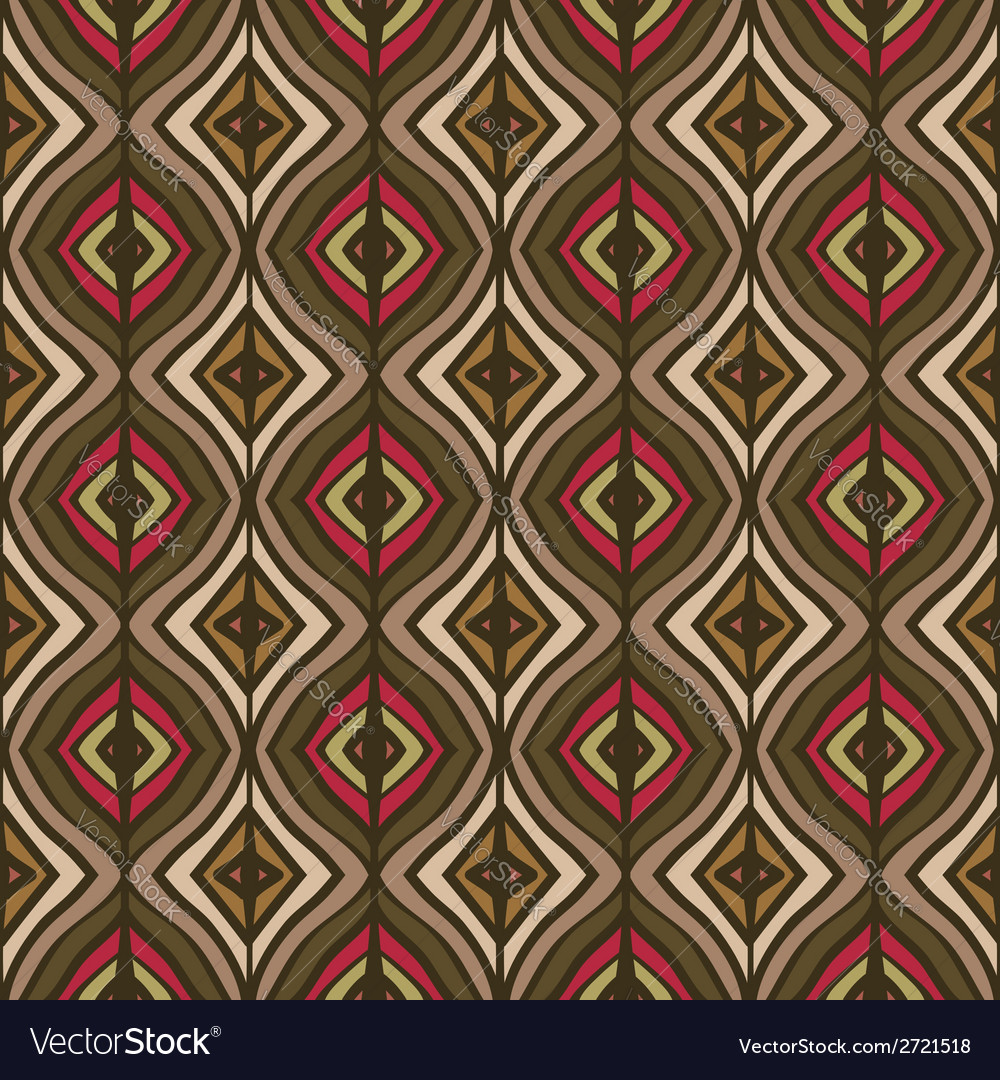 Hand drawing the ethnic pattern vector   Price: 1 Credit (USD $1)