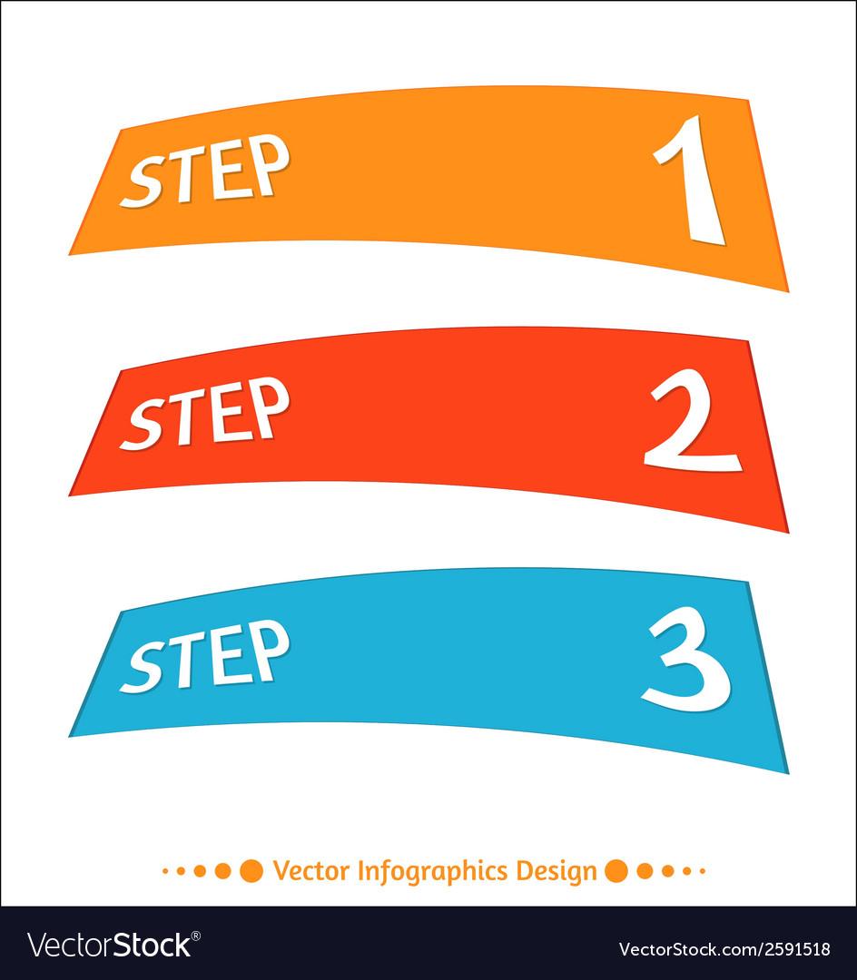 Infographic arrows set vector | Price: 1 Credit (USD $1)
