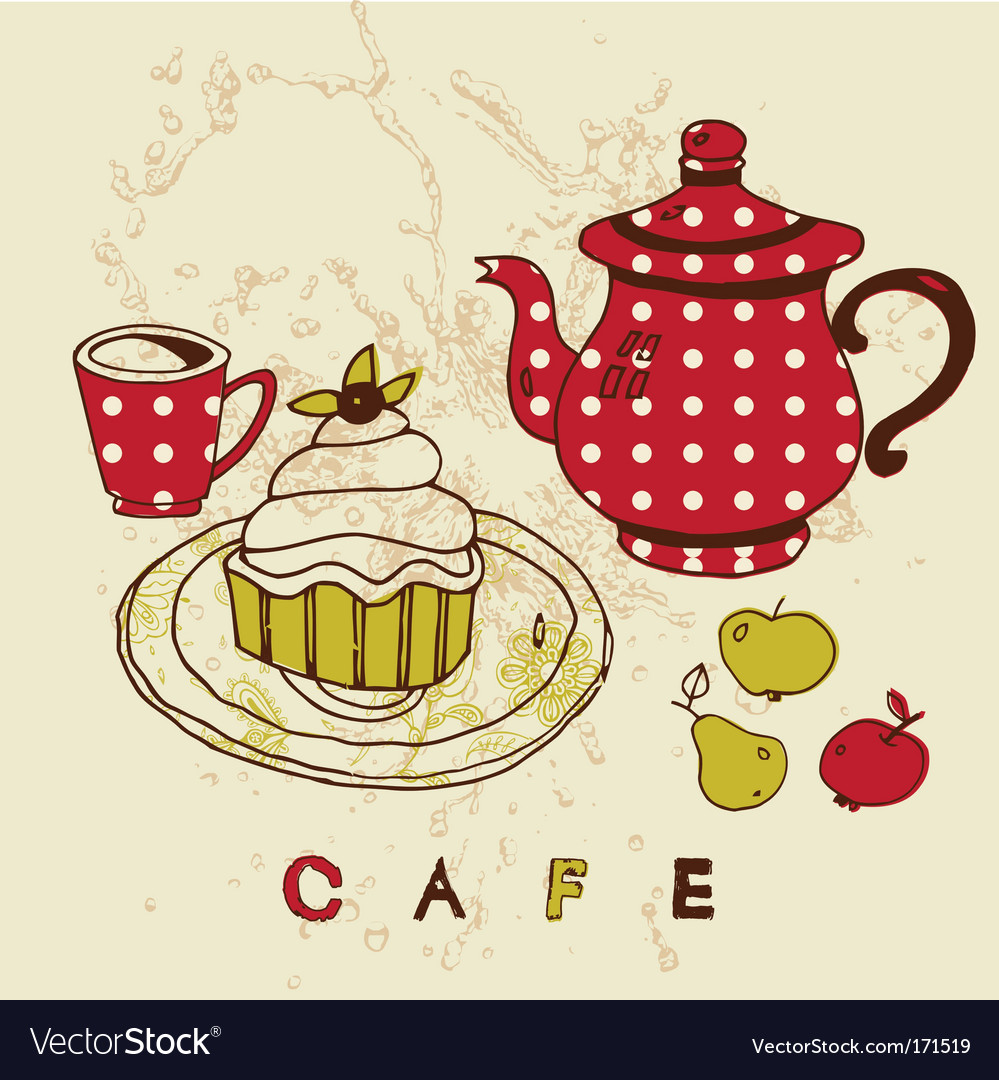 Cafe designs vector | Price: 1 Credit (USD $1)