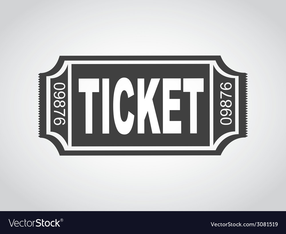 Ticket design vector | Price: 1 Credit (USD $1)