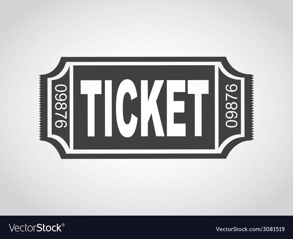 Ticket design vector | Price: 1 Credit (USD $1)