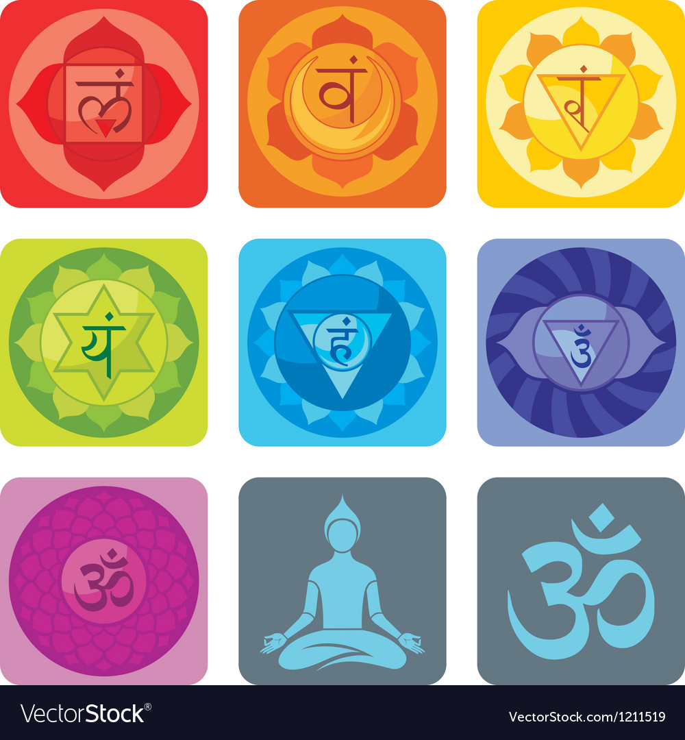 Yoga set vector | Price: 1 Credit (USD $1)