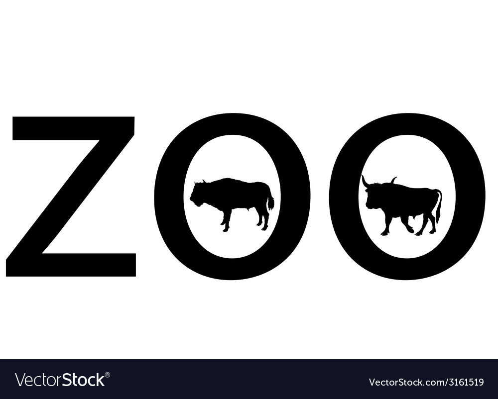 Zoo animals vector | Price: 1 Credit (USD $1)