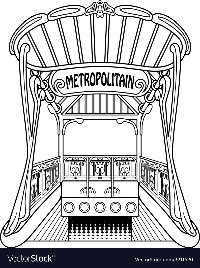 Metropolitain vector | Price: 1 Credit (USD $1)