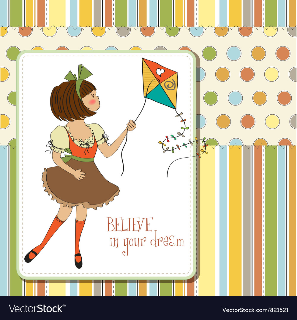 Believe in your dream vector | Price: 1 Credit (USD $1)