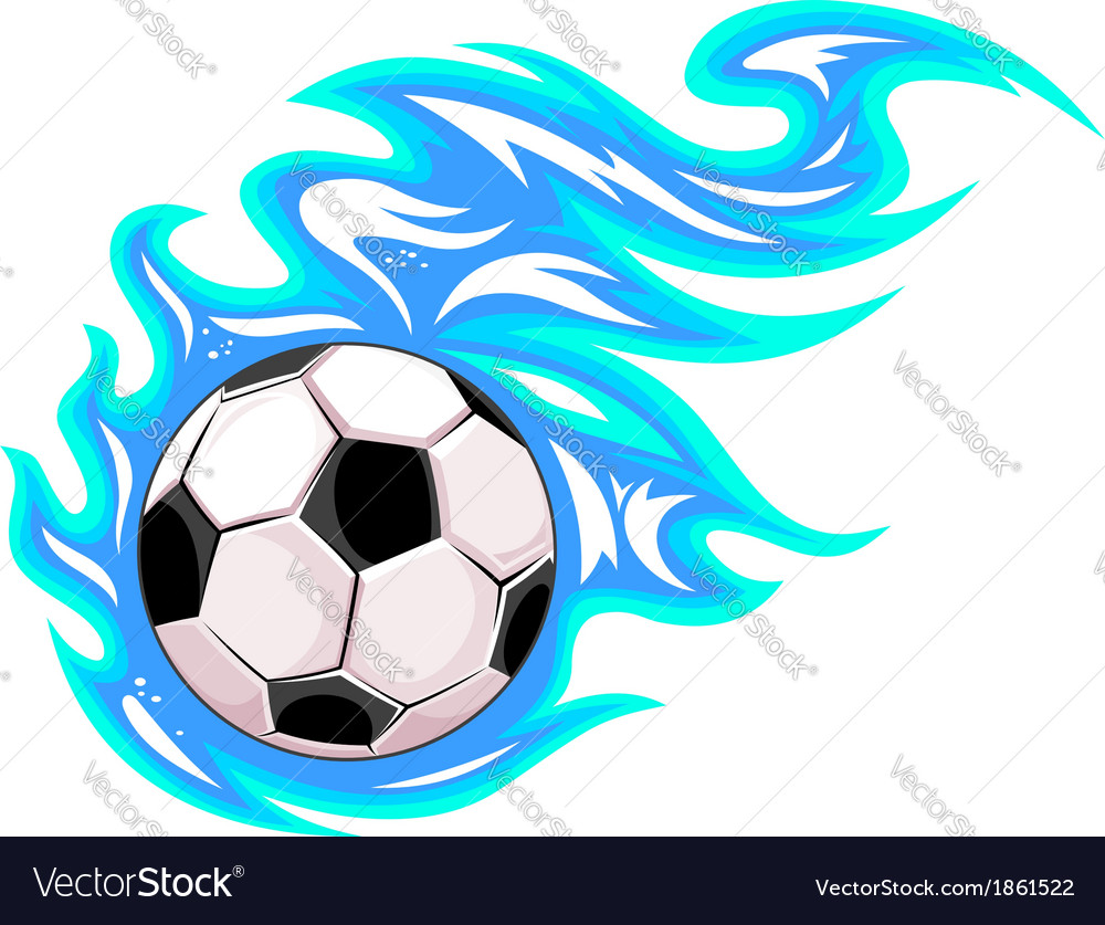 Championship soccer ball or football vector | Price: 1 Credit (USD $1)