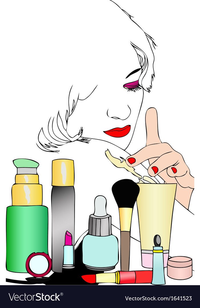 Beauty and body care vector | Price: 1 Credit (USD $1)